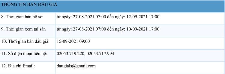 Ngày 15/9/2021, đấu giá 2 thang máy, 1 xe ô tô Mercedes-benz tại tỉnh Lạng Sơn ảnh 2