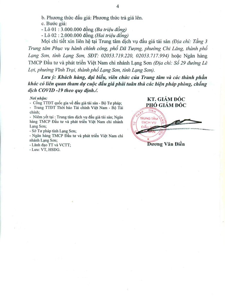Ngày 15/9/2021, đấu giá 2 thang máy, 1 xe ô tô Mercedes-benz tại tỉnh Lạng Sơn ảnh 6