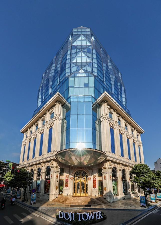 Những tòa cao ốc có kiến trúc độc đáo ở Hà Nội ảnh 3
