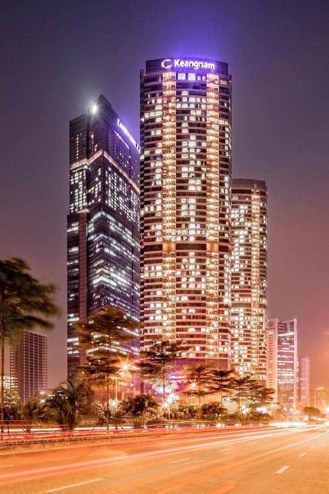 Những tòa cao ốc có kiến trúc độc đáo ở Hà Nội ảnh 5