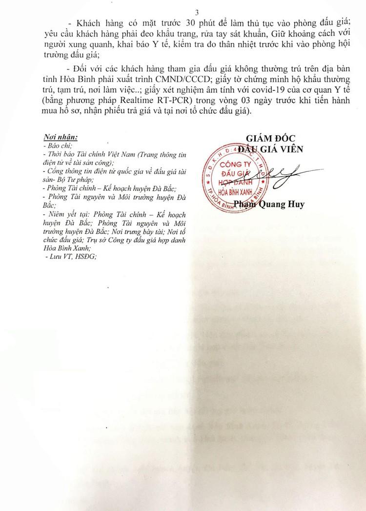 Ngày 14/9/2021, đấu giá xe ô tô chở rác Thành Công tại tỉnh Hòa Bình ảnh 5