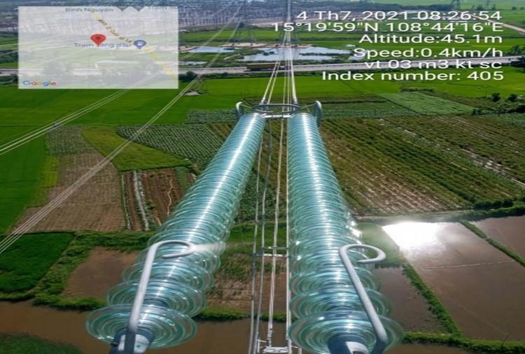 EVNNPT trang bị các thiết bị công nghệ cao nâng cao hiệu quả vận hành đường dây truyền tải điện ảnh 1