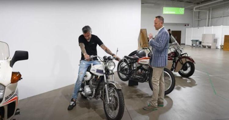 Richard Rawlings chuẩn bị đấu giá Honda Dream 50 độc nhất thế kỷ ảnh 2
