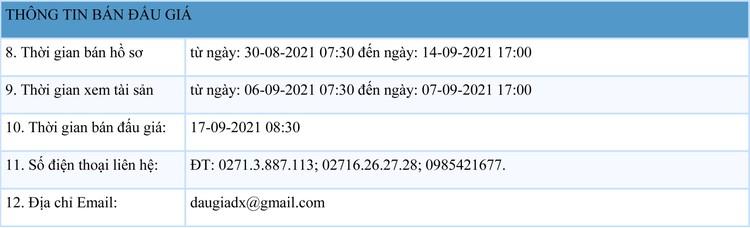 Ngày 17/9/2021, đấu giá 3 xe ô tô tại tỉnh Bình Phước ảnh 2
