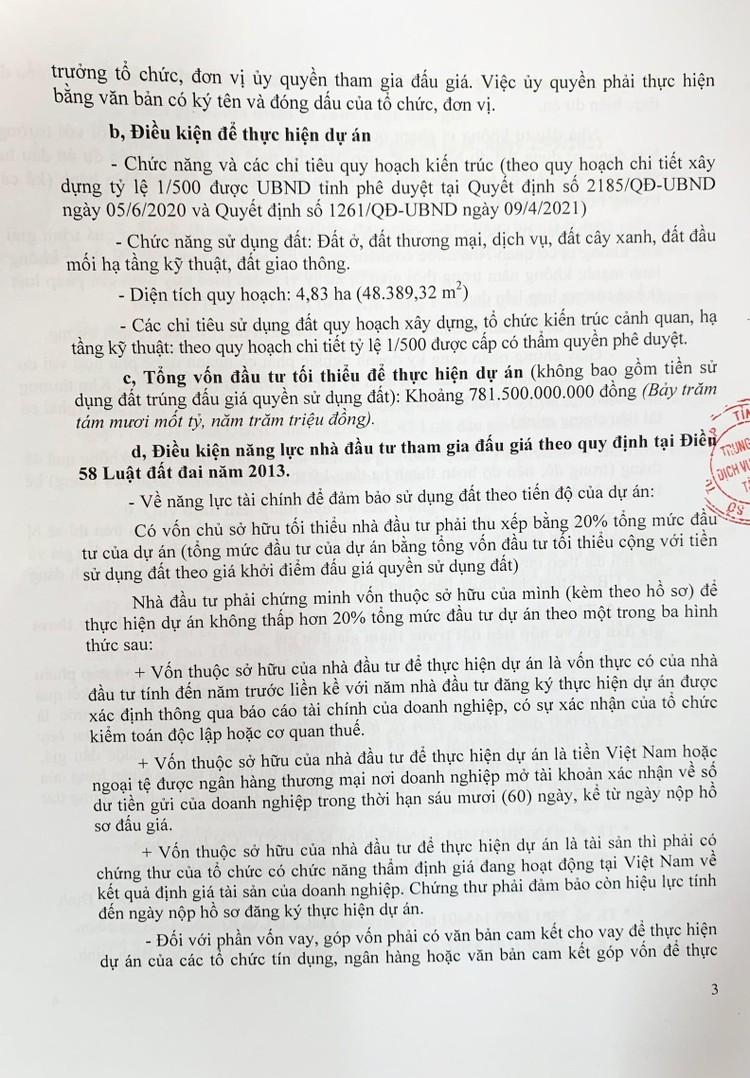 Ngày 25/9/2021, đấu giá quyền sử dụng 48.389,32 m2 đất tại Khu kinh tế Nhơn Hội, tỉnh Bình Định ảnh 4