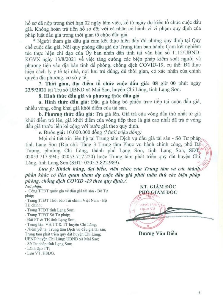 Ngày 23/9/2021, đấu giá quyền sử dụng 20 lô đất tại huyện Chi Lăng, tỉnh Lạng Sơn ảnh 4