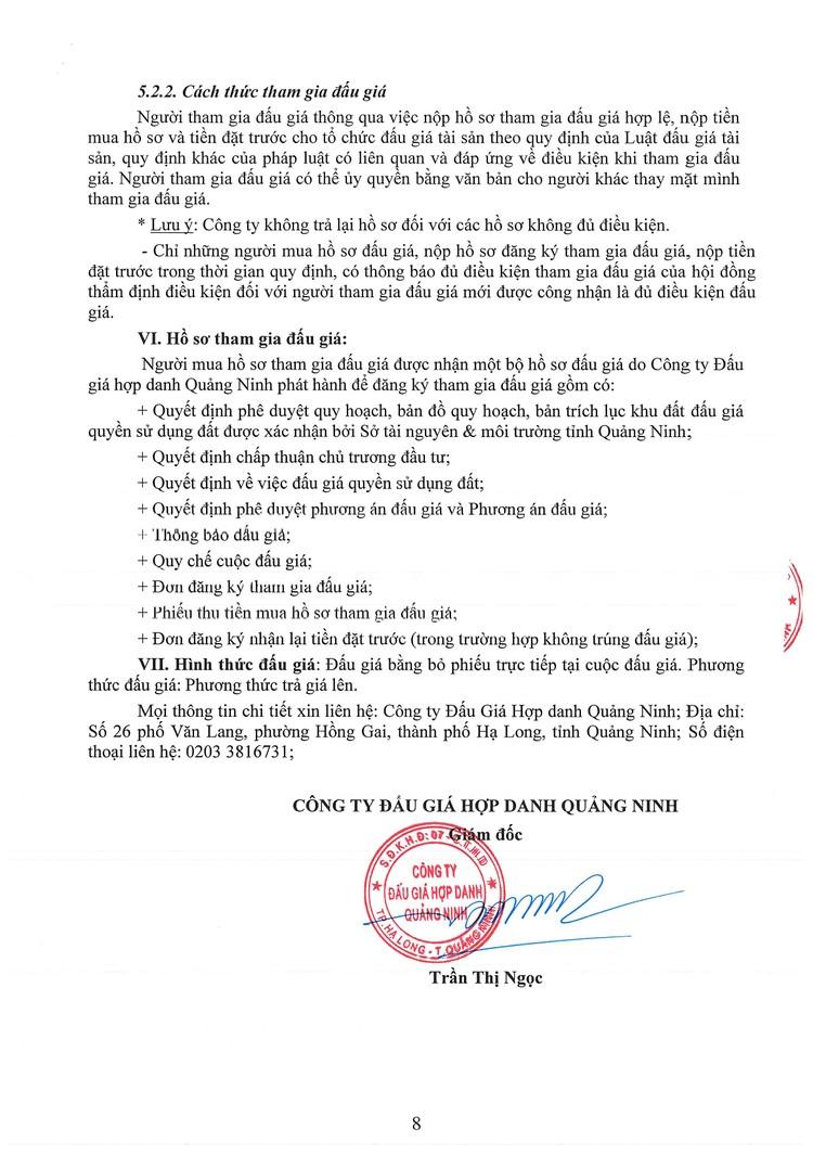 Ngày 18/9/2021, đấu giá quyền sử dụng đất tại thị xã Đông Triều, tỉnh Quảng Ninh ảnh 10