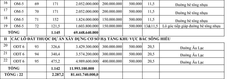 Ngày 25/9/2021, đấu giá quyền sử dụng 22 lô đất tại thành phố Đông Hà, tỉnh Quảng Trị ảnh 9