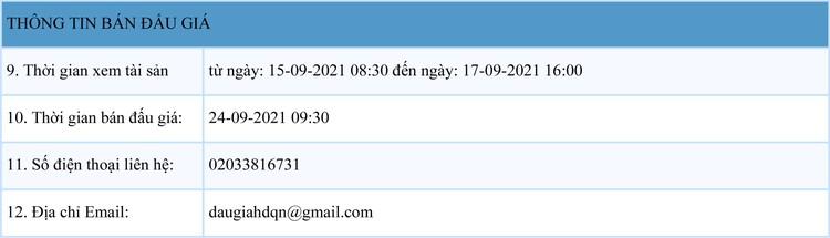 Ngày 24/9/2021, đấu giá quyền sử dụng đất tại thành phố Hạ Long, tỉnh Quảng Ninh ảnh 2