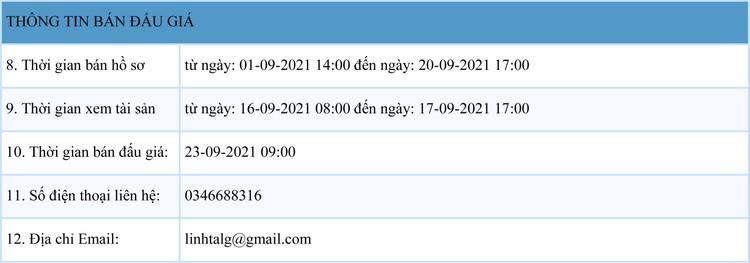 Ngày 23/9/2021, đấu giá 2 xe ô tô tại tỉnh Bắc Giang ảnh 2