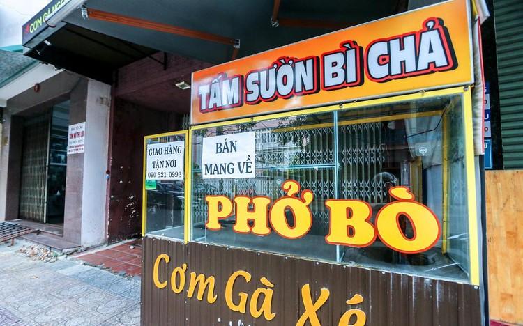 Hàng quán Nha Trang vẫn đóng cửa sau nới lỏng giãn cách ảnh 1