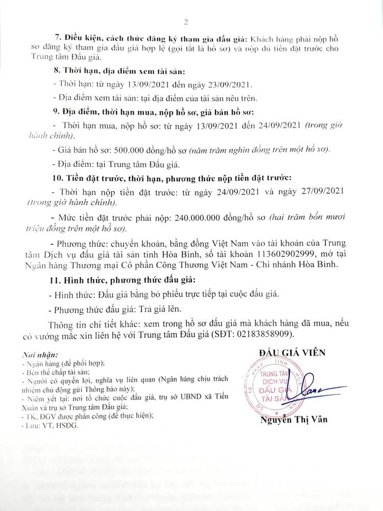 Ngày 29/9/2021, đấu giá quyền sử dụng đất tại huyện Thạch Thất, Hà Nội ảnh 4