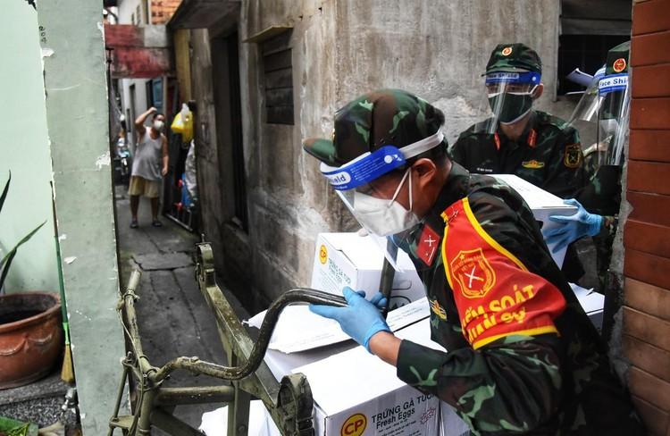 Những trang bị quân sự góp phần chống dịch tại TP.HCM ảnh 3