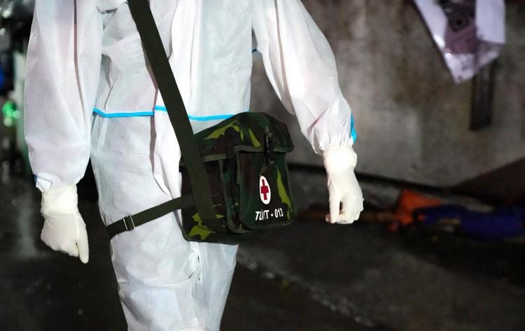 Những trang bị quân sự góp phần chống dịch tại TP.HCM ảnh 5