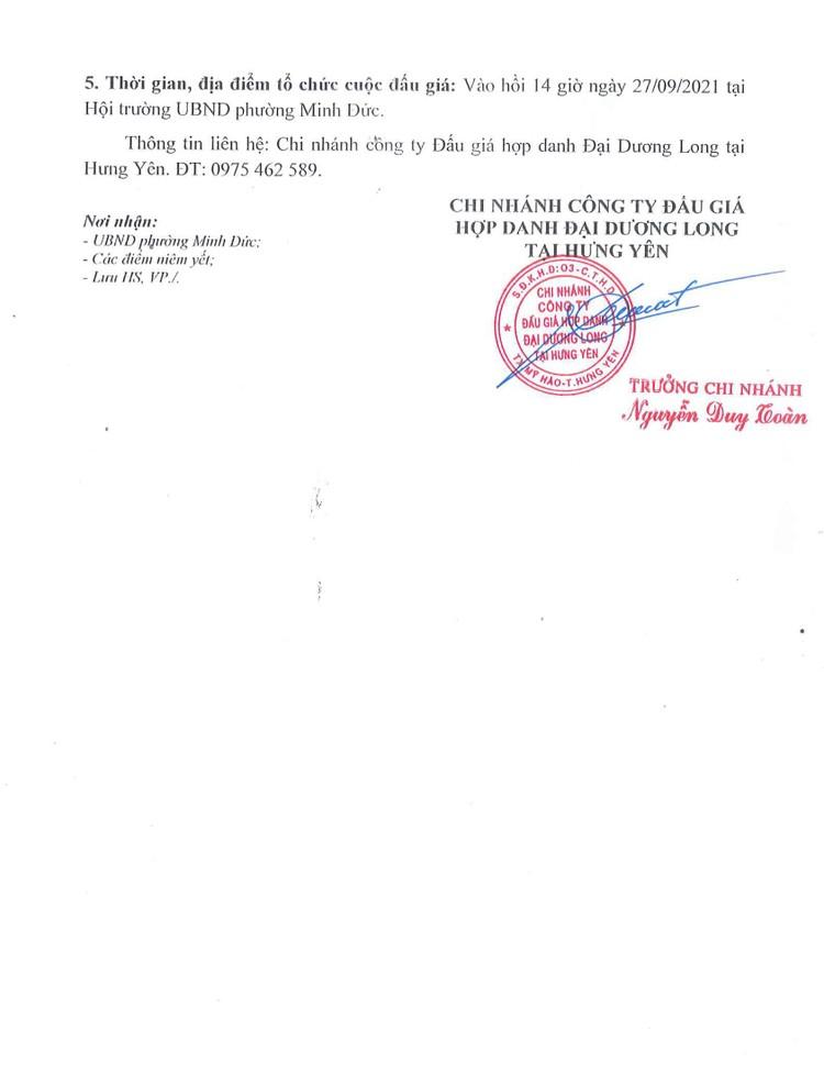 Ngày 27/9/2021, đấu giá vật tư thu hồi sau phá dỡ công trình tại tỉnh Hưng Yên ảnh 3