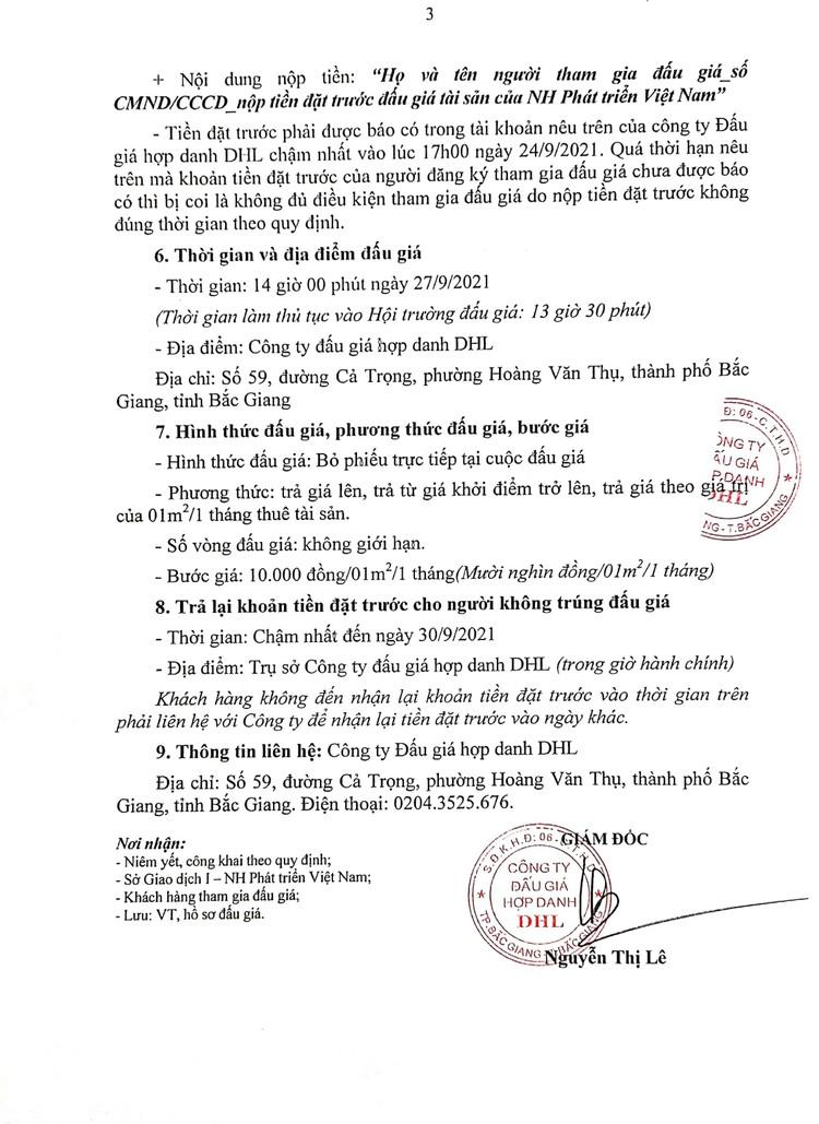 Ngày 27/9/2021, đấu giá cho thuê mặt bằng tại tỉnh Bắc Ninh ảnh 4