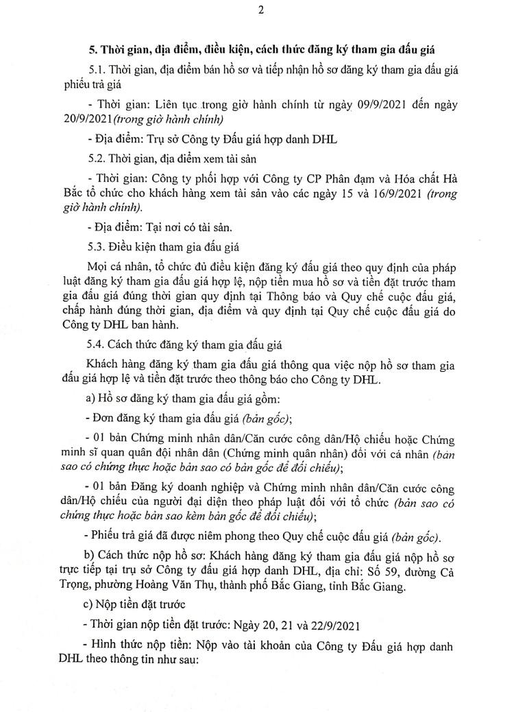 Ngày 23/9/2021, đấu giá 4 lô xe ô tô đã qua sử dụng tại tỉnh Bắc Giang ảnh 3