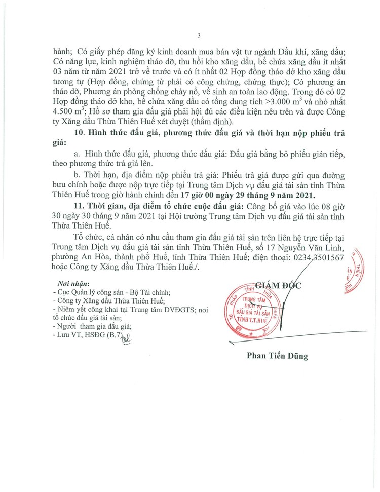 Ngày 30/9/2021, đấu giá tài sản thanh lý thu hồi trên đất tại tỉnh Thừa Thiên Huế ảnh 4