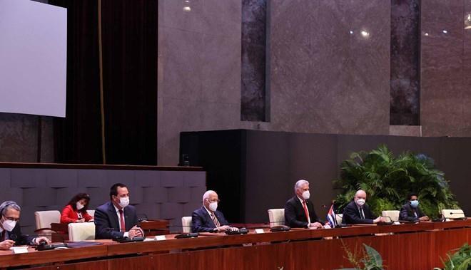 Chủ tịch Cuba chủ trì Lễ đón Chủ tịch nước Nguyễn Xuân Phúc ảnh 5