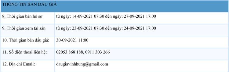 Ngày 30/9/2021, đấu giá xe ô tô MITSUBISHI tại tỉnh Lạng Sơn ảnh 2