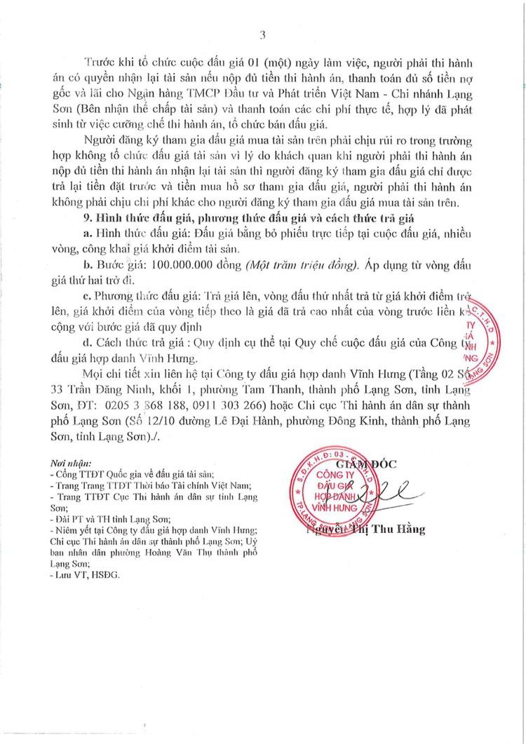 Ngày 7/10/2021, đấu giá quyền sử dụng đất tại thành phố Lạng Sơn, tỉnh Lạng Sơn ảnh 6