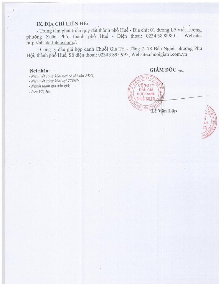 Ngày 2/10/2021, đấu giá phá dỡ, hủy bỏ kết hợp với thu hồi vật liệu thanh lý tại tỉnh Thừa Thiên Huế ảnh 7