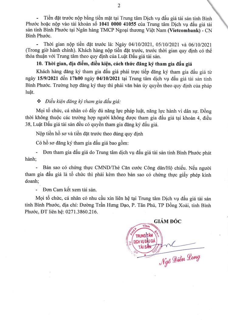 Ngày 7/10/2021, đấu giá dép các loại, van nước, bản lề, ổ khóa tại tỉnh Bình Phước ảnh 4