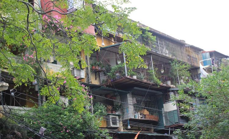 Cận cảnh 4 khu chung cư nguy hiểm cấp D ở Hà Nội sắp được cải tạo ảnh 21