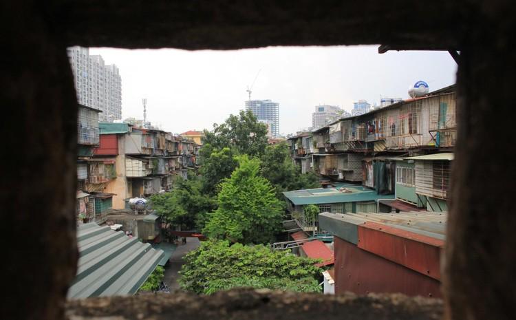 Cận cảnh 4 khu chung cư nguy hiểm cấp D ở Hà Nội sắp được cải tạo ảnh 24