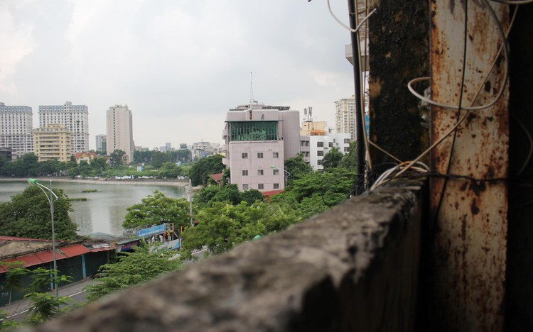 Cận cảnh 4 khu chung cư nguy hiểm cấp D ở Hà Nội sắp được cải tạo ảnh 25