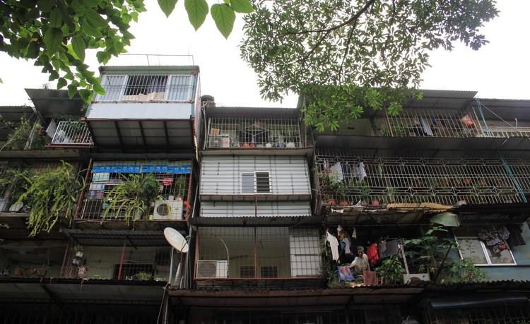 Cận cảnh 4 khu chung cư nguy hiểm cấp D ở Hà Nội sắp được cải tạo ảnh 6
