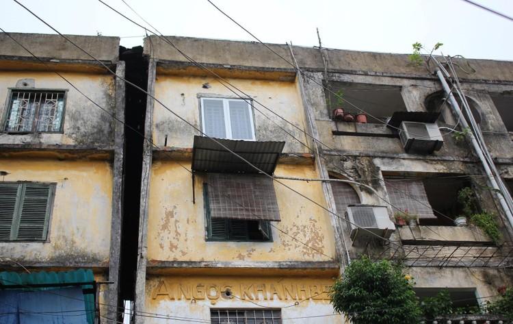 Cận cảnh 4 khu chung cư nguy hiểm cấp D ở Hà Nội sắp được cải tạo ảnh 8