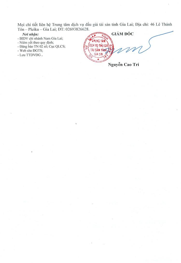 Ngày 8/10/2021, đấu giá quyền sử dụng đất tại thành phố Pleiku, tỉnh Gia Lai ảnh 4
