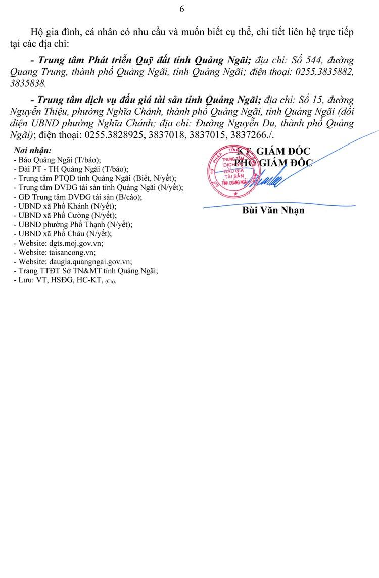 Ngày 9/10/2021, đấu giá quyền sử dụng 59 lô đất tại thị xã Đức Phổ, tỉnh Quảng Ngãi ảnh 7