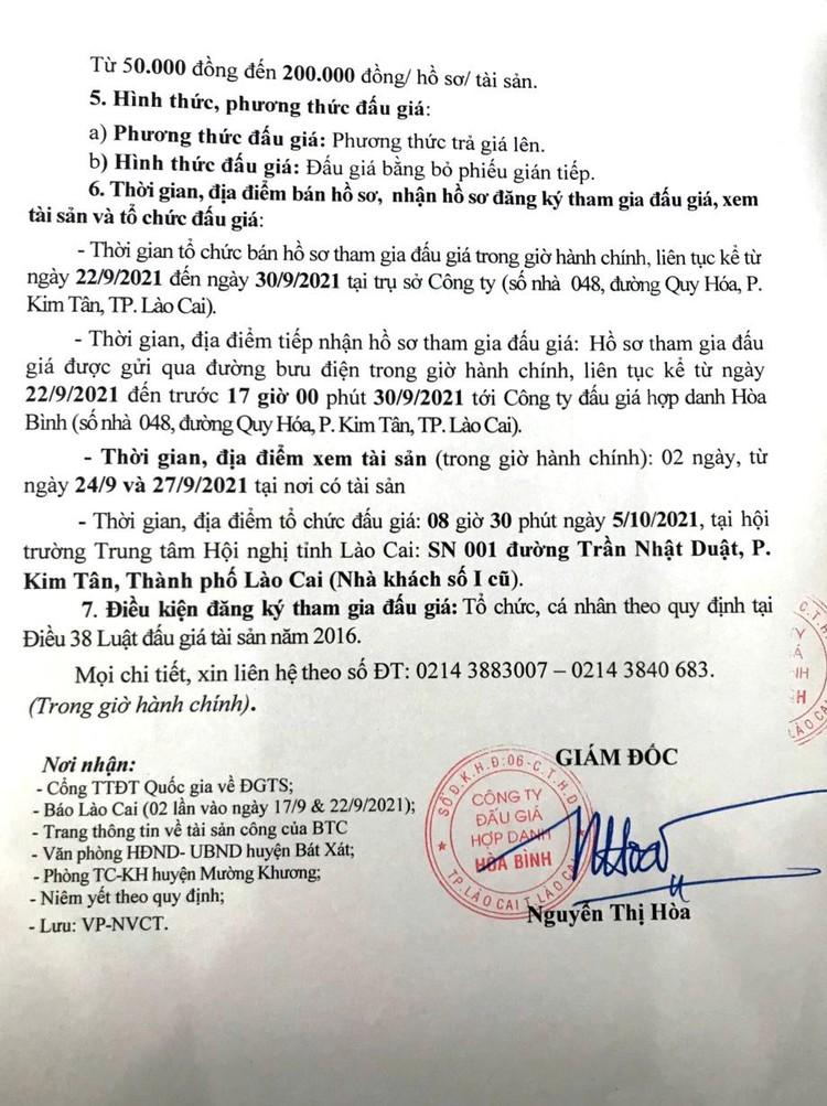Ngày 5/10/2021, đấu giá gỗ nghiến tịch thu tại tỉnh Lào Cai ảnh 3