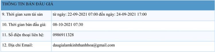 Ngày 8/10/2021, đấu giá quyền sử dụng 40 lô đất tại thị xã Nghi Sơn, tỉnh Thanh Hóa ảnh 2