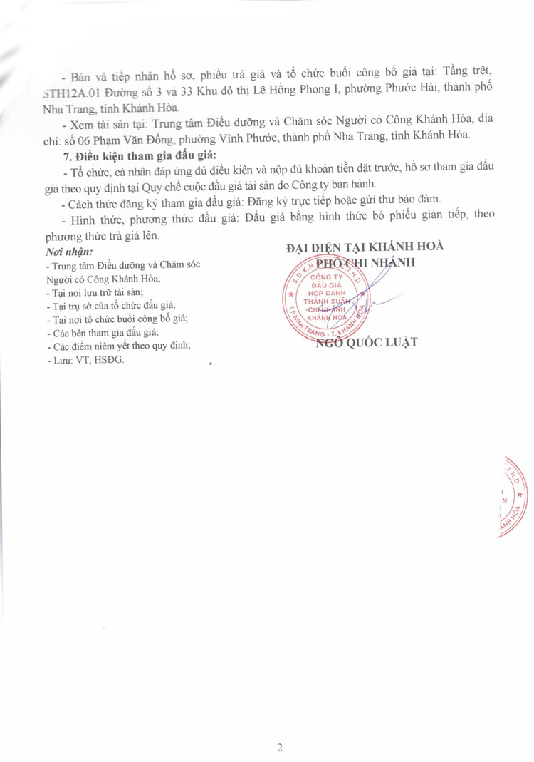 Ngày 5/10/2021, đấu giá xe ô tô TOYOTA tại tỉnh Khánh Hòa ảnh 3