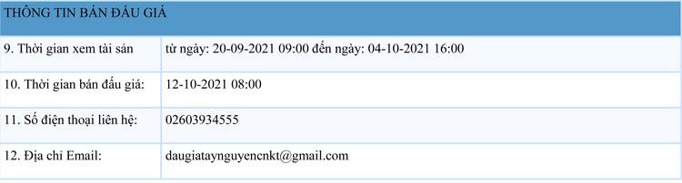 Ngày 12/10/2021, đấu giá quyền sử dụng 71 thửa đất tại huyện Đăk Hà, tỉnh Kon Tum ảnh 2