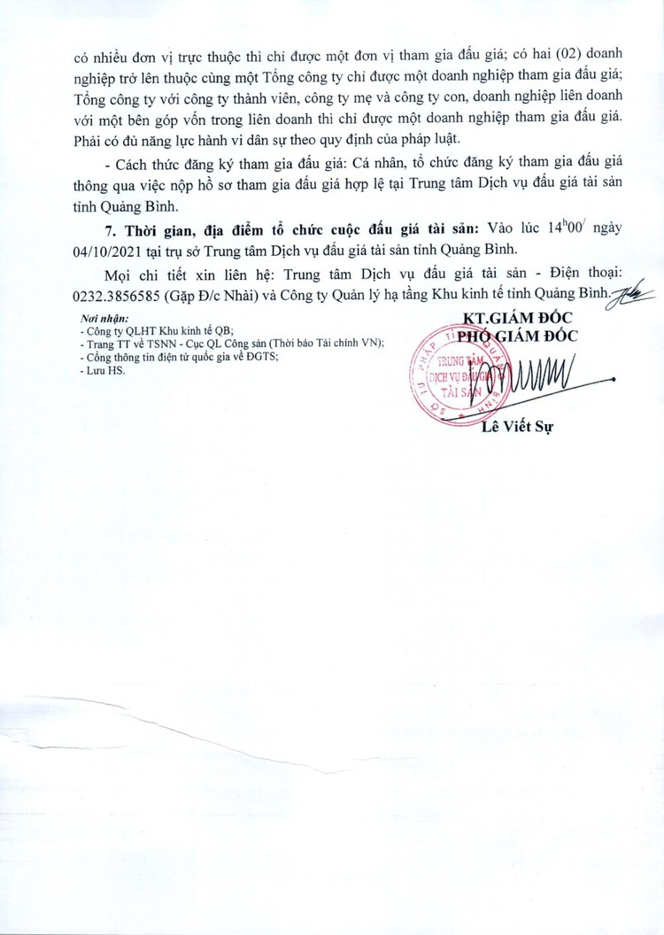 Ngày 4/10/2021, đấu giá xe ô tô TOYOTA tại tỉnh Quảng Bình ảnh 3