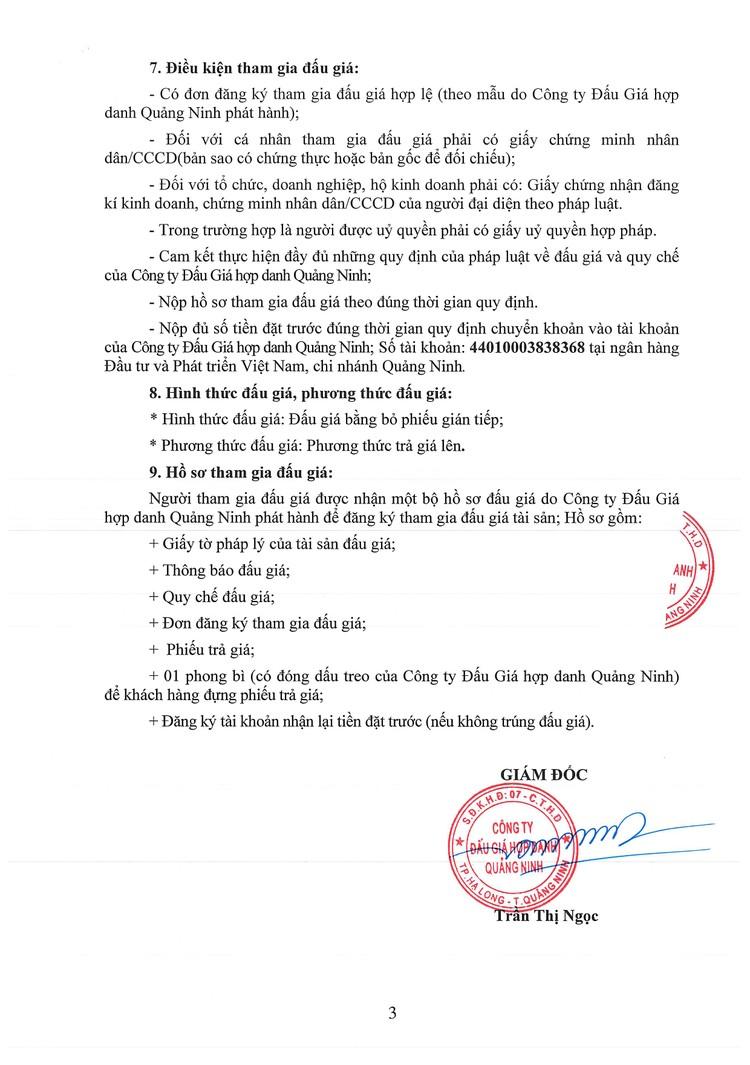 Ngày 7/10/2021, đấu giá 2 ô tô ISUZU tại tỉnh Quảng Ninh ảnh 5