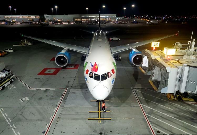 Bamboo Airways khai thác thành công chuyến bay thẳng không dừng kết nối Việt – Mỹ ảnh 1
