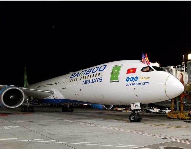 Bamboo Airways khai thác thành công chuyến bay thẳng không dừng kết nối Việt – Mỹ ảnh 5