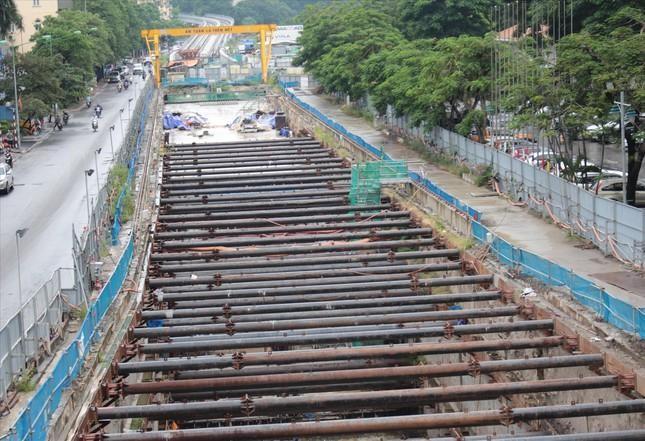 Ga ngầm metro Nhổn - ga Hà Nội: Vì sao nhà thầu nước ngoài dừng thi công? ảnh 2