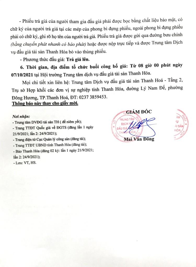 Ngày 7/10/2021, đấu giá lô gỗ trắc 1.130 kg tại tỉnh Thanh Hóa ảnh 3
