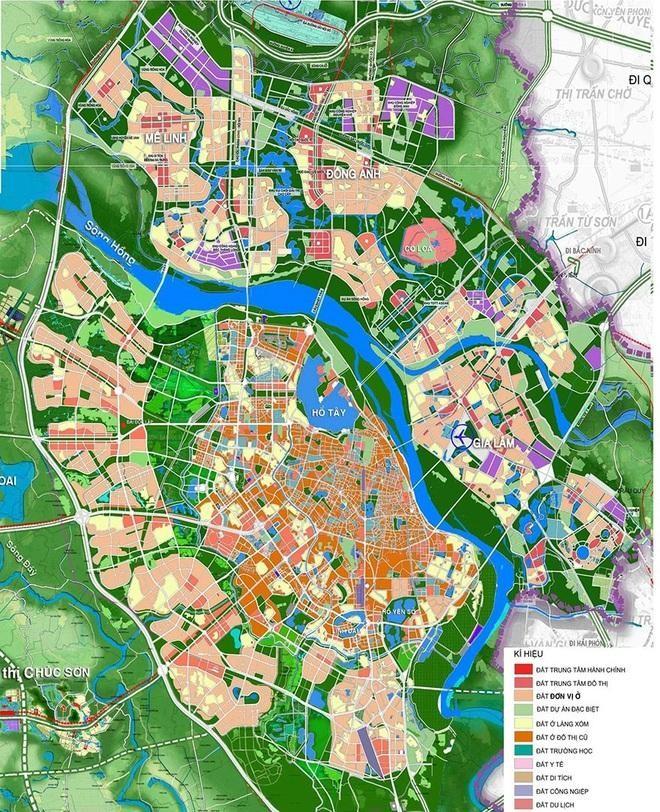 Hà Nội điều chỉnh tổng thể Quy hoạch chung xây dựng Thủ đô ảnh 1