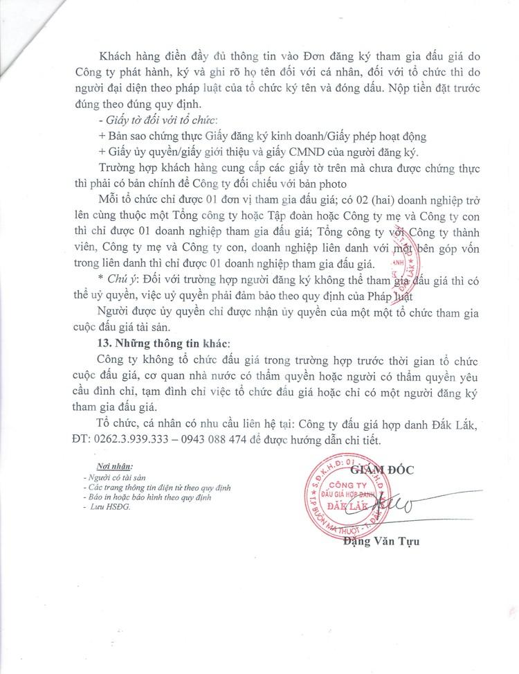 Ngày 14/10/2021, đấu giá quyền sử dụng 2.252,6 m2 đất tại TP. Buôn Ma Thuột, tỉnh Đắk Lắk ảnh 5