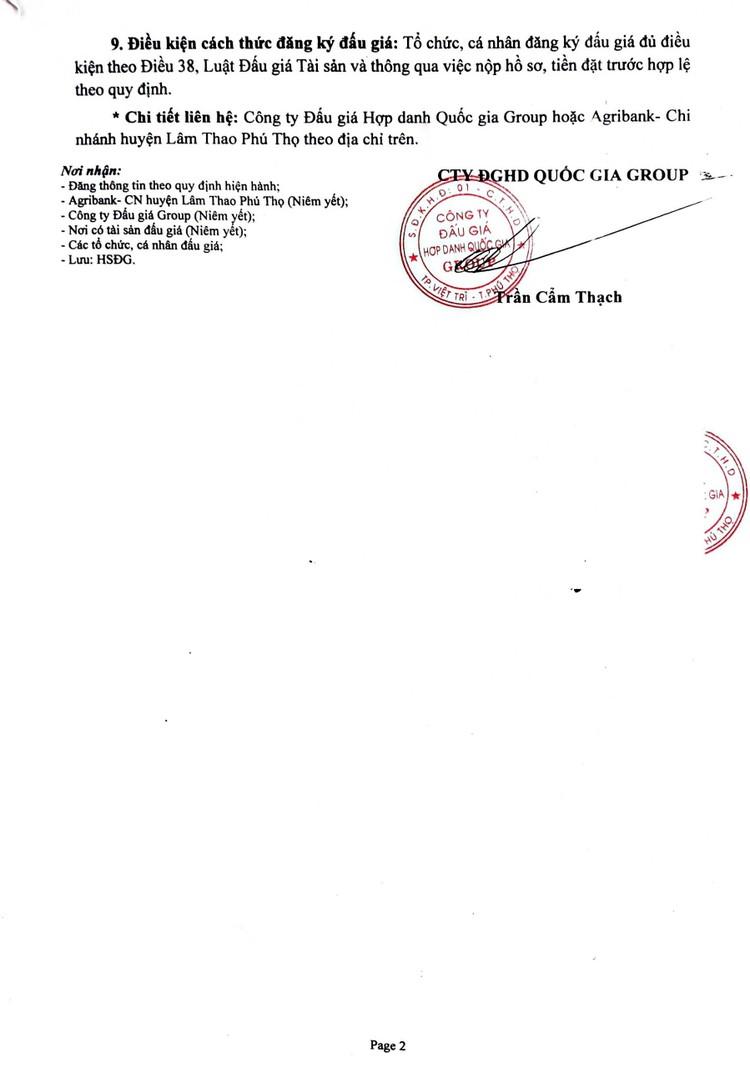 Ngày 15/10/2021, đấu giá quyền sử dụng đất tại huyện Phù Ninh, tỉnh Phú Thọ ảnh 3