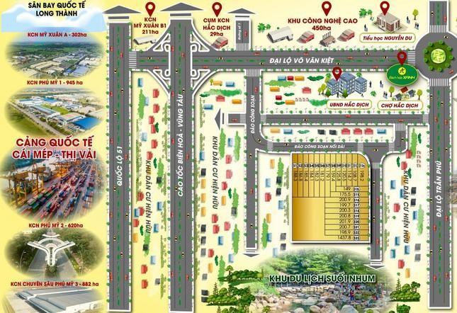 Bà Rịa-Vũng Tàu 'lệnh' rà soát loạt dự án của Địa ốc Vạn Tín Phát ảnh 1