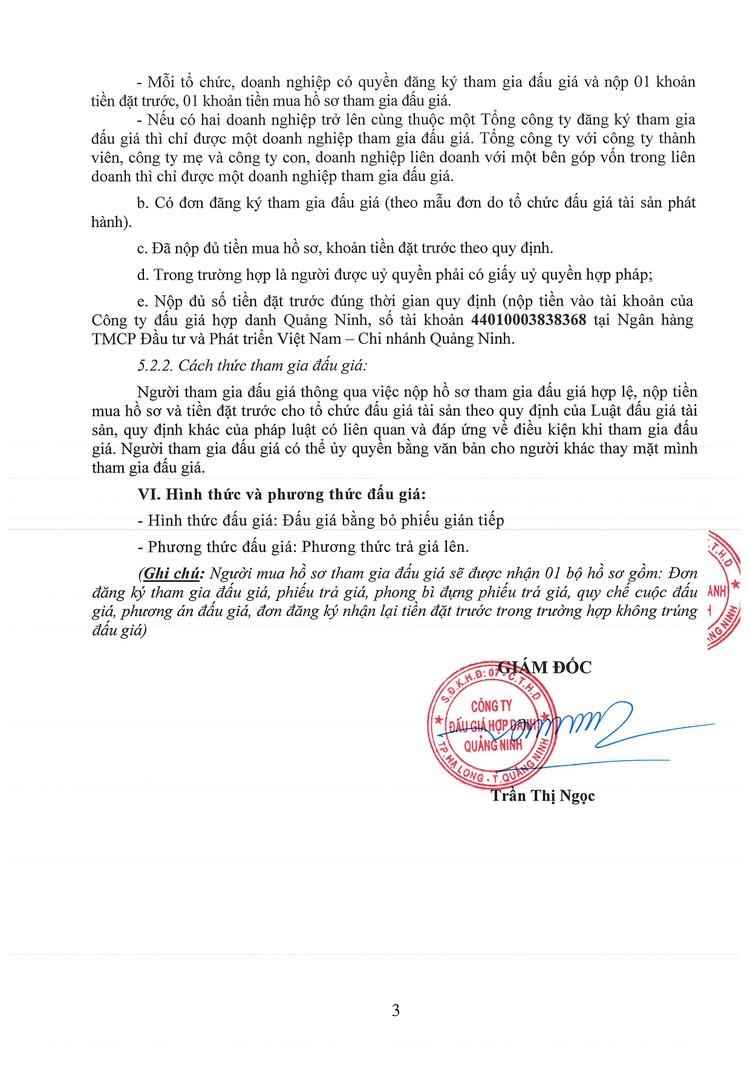Ngày 15/10/2021, đấu giá quyền khai thác Bến cá tạm tại phường Cao Xanh, thành phố Hạ Long, tỉnh Quảng Ninh ảnh 4