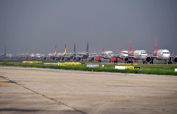 Sân đỗ Nội Bài sau đề xuất mở lại gần 400 chuyến bay nội địa ảnh 3